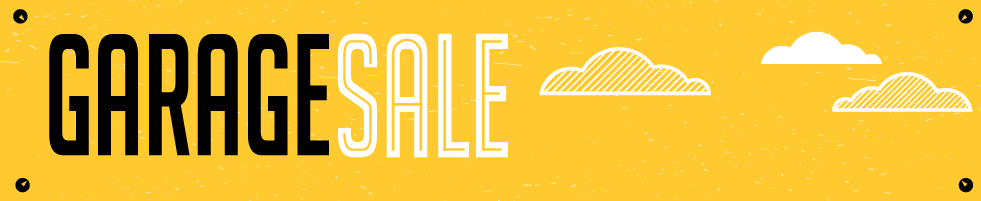 garage sale header